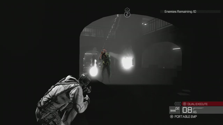 MariusRhinox playing Tom Clancy's Splinter Cell Conviction