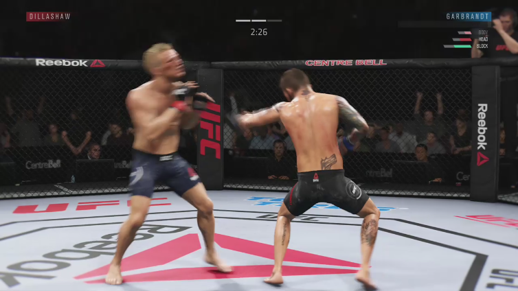 Chef Vordivask playing EA SPORTS UFC 3